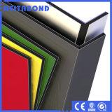panneau composé en aluminium de 3mm pour la décoration intérieure avec le prix usine