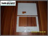 CNC точности подвергая половинные прозрачные пластичные части механической обработке