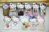 Hello Kitty TPU suave Teléfono Móvil caso cubierta de piel para el iPhone 5 (IP5-TPU0010)
