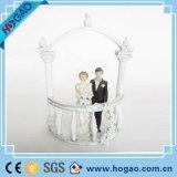 Polyassé résine gâteau de mariage topper pour décoration