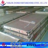 201 304 de 316 Opgepoetste Plaat van het Roestvrij staal met pvc voor Decoratie