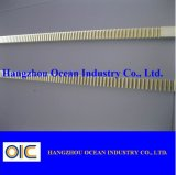 Weiße verzinkte CNC-Stahlfahrwerk-Zahnstange