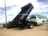 덤프 트럭은 자갈 덤프 상자, 덤프 트럭 부속을 상자에 넣는다