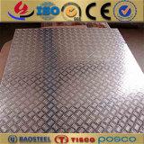 1060 1100 AntiSteunbalk Vijf de Plaat van het Aluminium van de Staaf voor Vloer