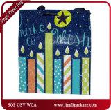 誕生日おめでとうのギフトのショッピング紙袋はギフト袋新しいデザインペーパーショッピング・バッグを薄板にした