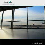 China Luoyang Landvac Branco Vidro reforçado de vácuo para portas interiores com insertos de vidro