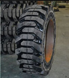 Niedrige Kosten pro Stunde, fester Reifen, Rad-Ladevorrichtungs-Gummireifen