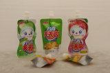 Sac d'emballage de jus de fruits de la saveur avec bec verseur pour les enfants