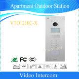 Vision nocturne Dahua intercom vidéo d'appartement de sécurité de la station de plein air (VTO1210C-X)
