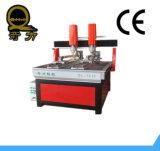 مزدوجة المغزل CNC نحت الخشب آلات الطرد المركزي مع محور QL-1212