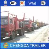 판매를 위한 Cummins Engine 로그 수송 로그 트레일러 트럭