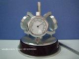 Orologio della Tabella del quarzo di alta qualità per l'igrometro del termometro del regalo A6033 con il supporto della penna e la penna