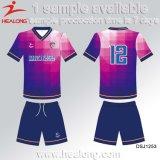 Uniforme de sublimación Hombre Equipo Conjunto de fútbol Jersey de fútbol