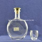Großhandelsglasweinbrand-Flasche, Glasflasche X.-O, Whisky-Wein-Flasche