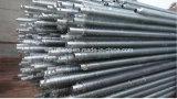 El tubo de aleta de galvanizado recubierto de tubo de aletas, Zn, barnizadas de tubo de aletas a la lucha contra la corrosión