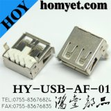 USB 2.0 een Type 90 Graad Jack voor de Producten van de Computer (usb-af-01)
