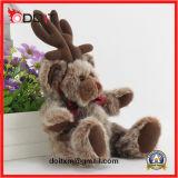 As renas Moose brinquedo recheadas de pelúcia Ursinho de Natal