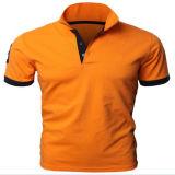 Personalizado 100% camisa de algodón para hombre Polo