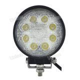 4inch Round 24W 8X3w LED van Road 4X4 Work Light