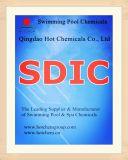 El 56%/60% SDIC Piscina desinfectante No CAS 2893-78-9