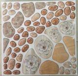 Prueba de agua para inyección de tinta suelo rústico mosaico de pared de cristal