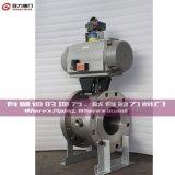 CF8 CF8m Flange V Segment Ball Valve