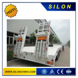 販売のための平面容器のトレーラー2つの半車軸3車軸40FT 20FT新しい40フィートの平らなトラックの