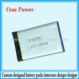 리튬 Polymer Battery 3.7V 1150mAh (TP-503759)