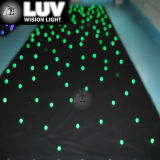 Flexibele LED-trapsgordijn in volledige kleur