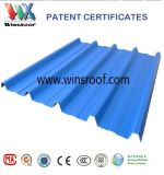 Winsroof 4 Capa de superficie PMMA PVC Techo Tile- relieve Disponible