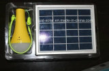 Luz solar Inicio con función de linterna en mercados calientes