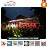 Transparentes Zelt für im Freien temporäres Hochzeits-Erscheinen