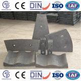 Alto trazador de líneas del shell de acero de manganeso