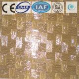3-8mm 부유물 또는 부드럽게 한 파랗거나 까맣고 또는 서리로 덥는 청동색 장식무늬가 든 유리 제품