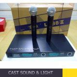 De professionele Lx88 III Audio Draadloze/Draadloze UHF Handbediende Microfoon van het Stadium