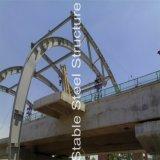 駅のための鋼管のトラス構造の屋根