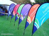 Оптовые дешевые флаги Teardrop напольный рекламировать с печатание