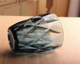 ジュース水のためのCustomizdのロゴの飲むガラスのマグが付いている多彩なガラスコップ