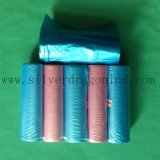 Colorful Plastic HDPE Garbage Bag one Roll