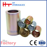 Eaton standard pour le flexible hydraulique de la machine CNC forgé férule (00400)