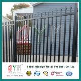 Galvanisierter bearbeitetes Eisen-Zaun-/Picket-Zaun mit guter Qualität