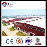 Edificio rápido de la estructura de acero del panel de emparedado de la estructura de la fuente de la fábrica (ZY104)