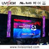 La Chine de haute qualité couleur CMS Stade Location d'intérieur de l'écran à affichage LED