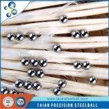 Bola de acero inoxidable sólida AISI306 para los rodamientos