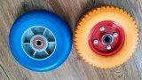 Las ruedas giratorias de poliuretano 8X2.50-4