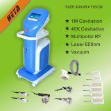 Macchina capa Multifucntion H1001c di bellezza del diodo della pelle Care+Laser 650nm del peso Lost+RF di vuoto