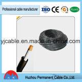 El cable eléctrico con la conducta de cobre, aislamiento de PVC---Tsj