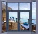 Kundenspezifisches Aluminiumflügelfenster Glaswindows für Wohnhaus (ACW-052)