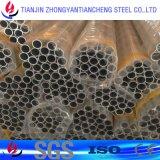 tubulação da liga 6061 6063 de alumínio no estoque de alumínio na superfície da limpeza