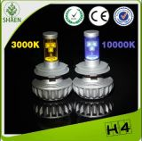 faro dell'automobile LED di 3000lm H4